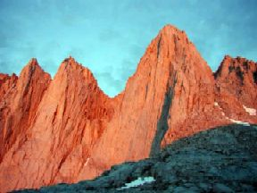 The East Face of Mount Whitney